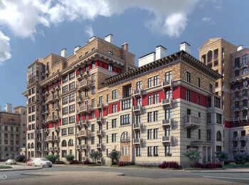 Вид на жилой корпус с улицы